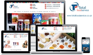 Total Foodservice Solutions - website content, email marketing and social media marketing