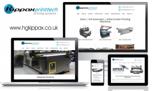 HG Kippax & Sons Ltd - Kippax Printtech - website content and email marketing