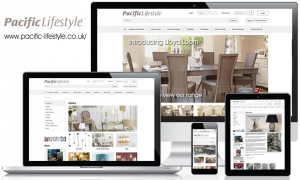 Pacific Lifestyle - website content, email marketing and social media marketing