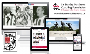 Sir Stanley Matthews Coaching Foundation - web content and social media marketing